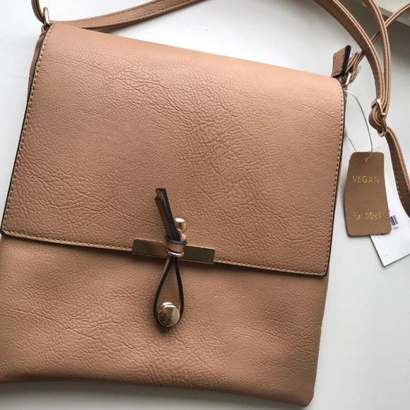 344a49e859be Bags | Le Miel Vegan Leather Handbag Price Firm | Poshmark